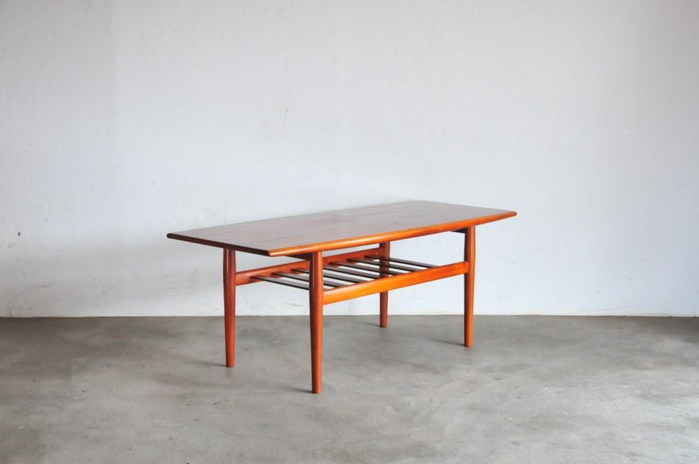 Grete Jalk teak coffee table グレーテ ヤルクテーブル 6018