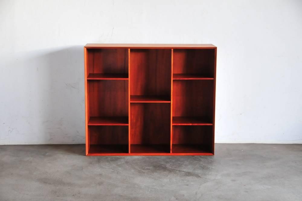 Peter Hvidt&Molgaard Nielsen bookcase デンマーク製 キャビネット アンティーク【中古】2056