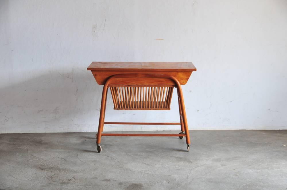 Danish sewing table 195*北欧アンティークソーイングテーブル