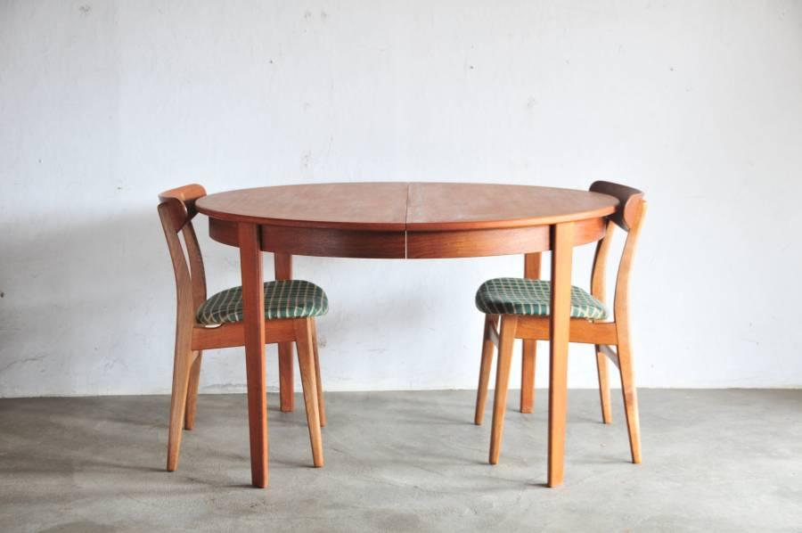 vintage teak dining table 北欧ビンテージアンティーク