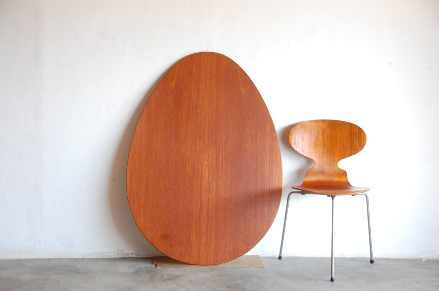 Arne Jacobsen Egg Table FH3603 & FH 3100x3 (1952)