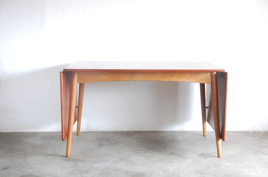 wegner Teak-oak dining table denmarkウェグナーチークダイニングテーブル