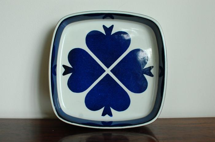 Royal Copenhagen プレート Den Frie Kobmandロイヤルコペンハーゲン 角皿