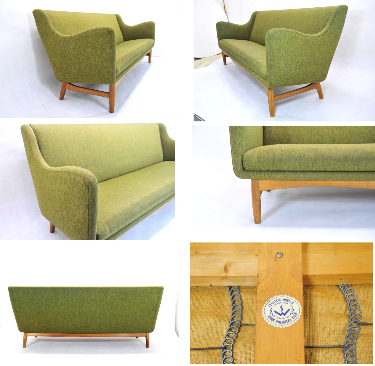 Finn juhl sofa 1954 Finn Juhl