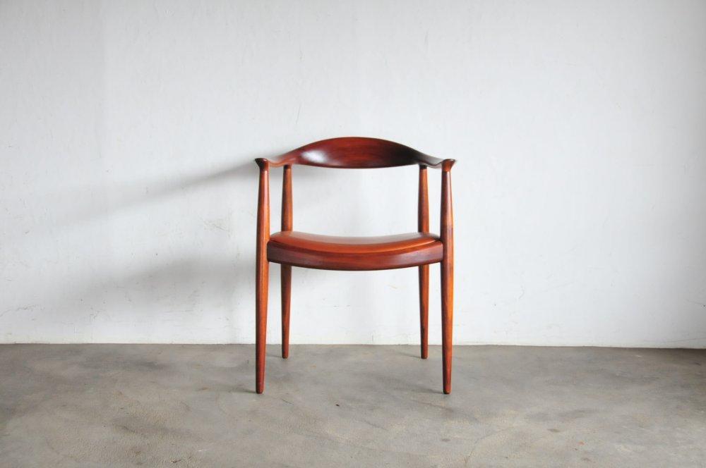 Hans J.Wegner The Chair JH 503 round Chair A very classic Chair