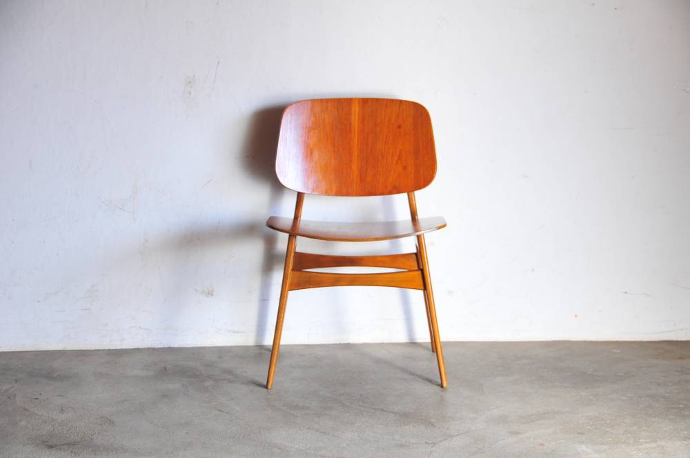 Borge Mogensen Teak Dining Chair No155 aウェグナー モーエンセン 北欧【中古】