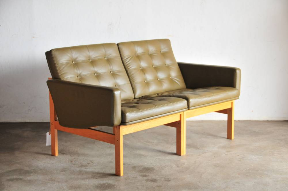 Moduline Sofa Cado Genuine Leather Sofa North Europe Furniture デンマークウェグナー