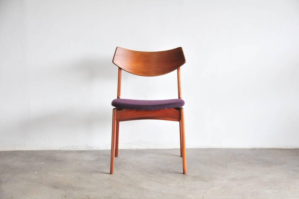 Funder-Schmiut&Madsen Teak dining desk Chair (196*)odense denmark