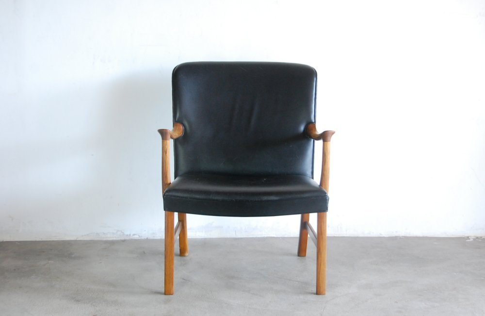 Ole Wanscher Easy chair 1960,s AJ Iversenオーレ・ヴァンシャー