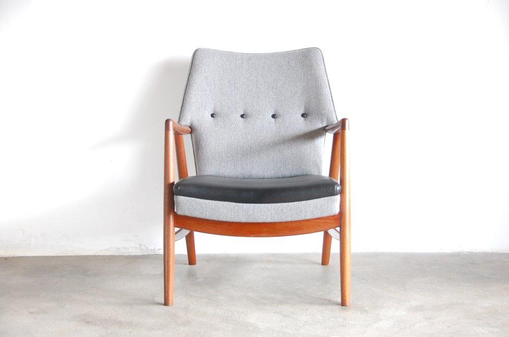 Kurt Olsen(195*)Model 245 Teak Easy chair【中古】デンマーク 名作椅子 ビンテージ アンティーク