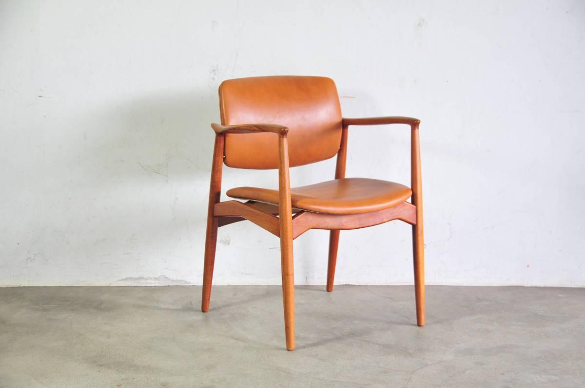 Erik Buch dining chair Vodder Finn juhl Buch Vodder dining teak ウェグナーモーエンセン北欧【中古】, 山武郡:59753f6e --- sunward.msk.ru