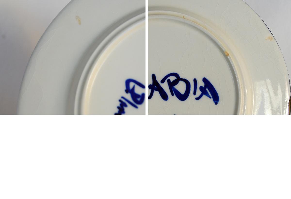 ARABIA Valencia plate Arabia antique North Europe Finland