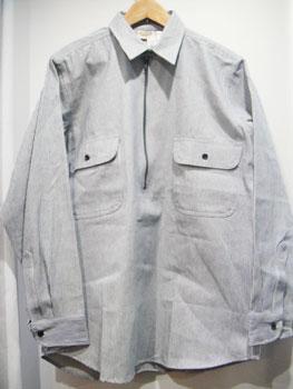 90'S ファイブブラザー FIVE BROTHER ヒッコリーストライプシャツ ☆サイズ:M☆ RM-755