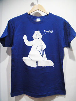 """70'S チャンピオン Champion バータグ """"Bigfoot""""両面フロッキープリントTシャツ ☆サイズ:M☆ RM-856"""