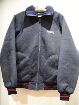 """80'S PATAGONIA パタゴニア """"デカタグ""""裏パイルフリースジャケット ★サイズ:M★ RM-021"""