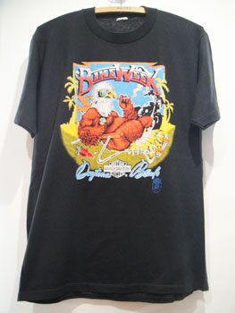 """ハーレーダビッドソン HARLEY-DAVIDSON """"DAYTONA BEACH""""ヴィンテージTシャツ ☆サイズ:L位☆ RM-031"""
