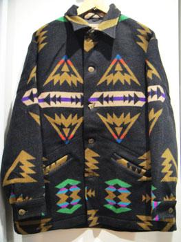 HIGH GRADE WESTERNWEAR byPENDLETON ペンドルトン ネイティブ柄ウールジャケット ☆サイズ:L☆ RM-667