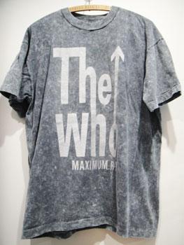 "90'S ヴィンテージ ロックTシャツ THE WHO ""MAXIMUM R&B"" ★サイズ:XL★ RM-037"