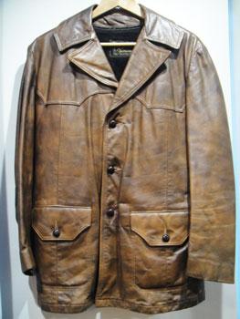 ヴィンテージ Reed sortswear 3ボタン レザージャケット ★サイズ:38★ RM-735