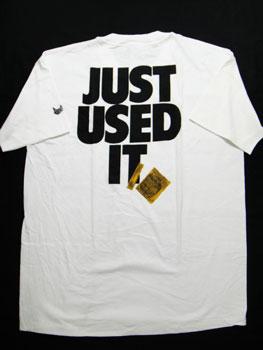 """【あす楽】【新品】90'S LIFE'S A BEACH """"JUST USED IT""""Tシャツ ☆サイズ:XL☆ RM-584"""