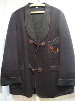 ヴィンテージ 40'S スモーキングジャケット ★サイズ:M位★ RM-741