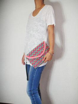 刺繍&ビーズクラッチバック インド刺繍 RM-625