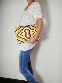 刺繍&ビーズクラッチバック インド刺繍 RM-629