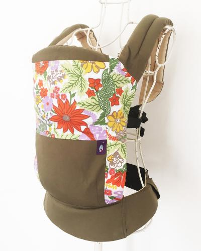 【あす楽】【送料無料】 CAPPY Baby Carry キャピーベビーキャリー ☆Oriental Flower☆