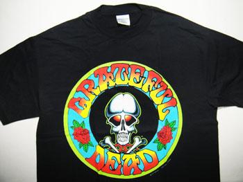 【送料無料】【新品】ヴィンテージ91'S グレートフルデット/GRATEFUL DEAD-Tシャツ ☆サイズ:XL☆ RM-540