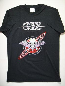【送料無料】【新品】ヴィンテージ80'S MONGOLIANS プリントTシャツ ☆サイズ:L☆ RM-593