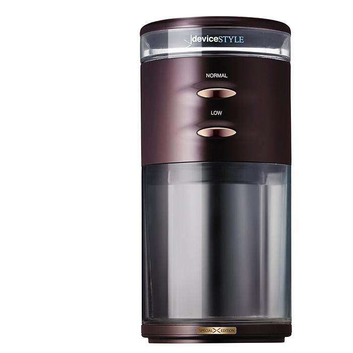 デバイスタイル 電動コーヒーミル ブラウンdeviceSTYLE コーヒーグラインダー GA-1X Special Edition GA-1X-BR