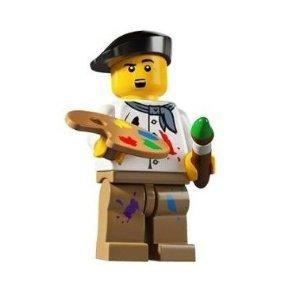 当店のレゴ ミニフィギュアは 全品送料無料 本日限定 レゴ 人気ショップが最安値挑戦 8804 シリーズ4 LEGO 芸術家 ミニフィギュア