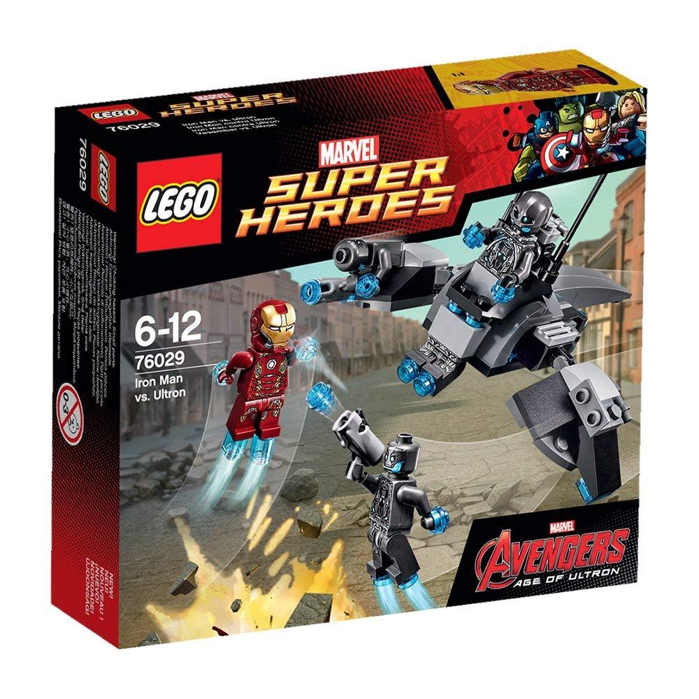 レゴ 76029 マーブル スーパーヒーローズ アベンジャーズ アイアンマン vs ウルトロン LEGO
