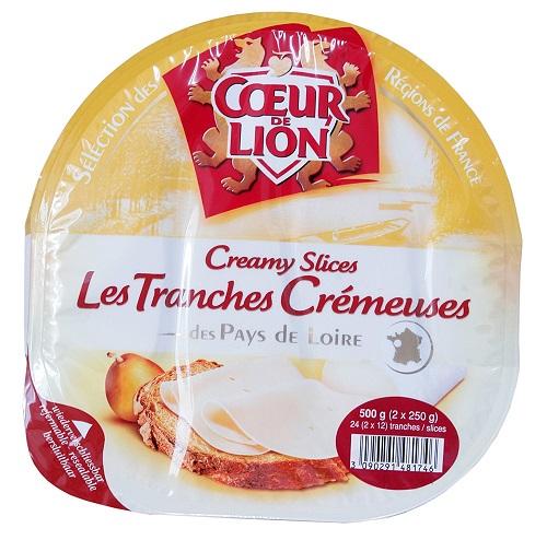 在庫限り 送料無料 ご入金確認後 市場 1~3営業日発送可能 COSTCO コストコ COEUR DE LION 冷蔵食品 250g×2個 白カビタイプ クールドリヨン 超激安 500g クリーミースライスチーズ