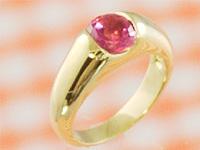 開店祝い 赤ちゃんに幸運を運ぶ小さな指輪 プリモ ゴールドベビーリングK18 ピンクトルマリン 出産記念 Day First 誕生祝い Mother's 新商品 出産祝い