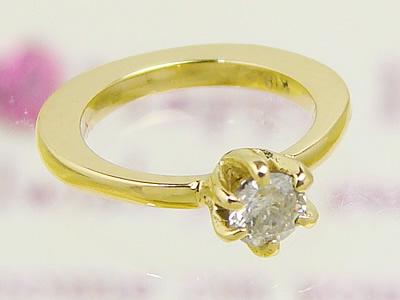 思い出を刻印できるベビーリング ウィッシュK18ゴールド【ダイヤモンド】 出産記念 誕生祝い 出産祝い