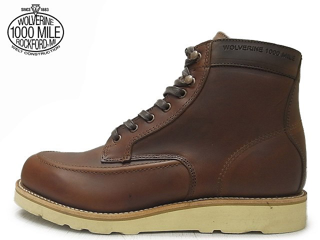 ウルヴァリン 1000マイルブーツ 【WOLVERINE 1000MILE BOOTS EMERSON エマーソン W00283 ラセット ホーウィン社製 クロムエクセルレザー Made in USAメンズ ブーツ men's boots