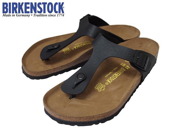 BIRKENSTOCK / ビルケンシュトック GIZEH / ギゼ BLACK / ブラック 043691 MENS&LADIES / メンズ&レディース 幅広モデル / NORMAL サンダル