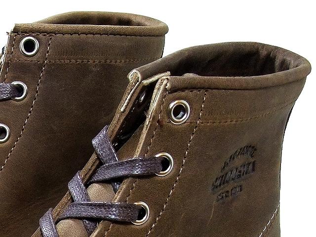 """奇珀瓦 / 奇珀瓦 6""""商务部脚趾楔靴子/6 英寸 MOC 楔形靴子 1901年米 23 疯马 / 疯马花边 / 花边在美国和在美国制造"""