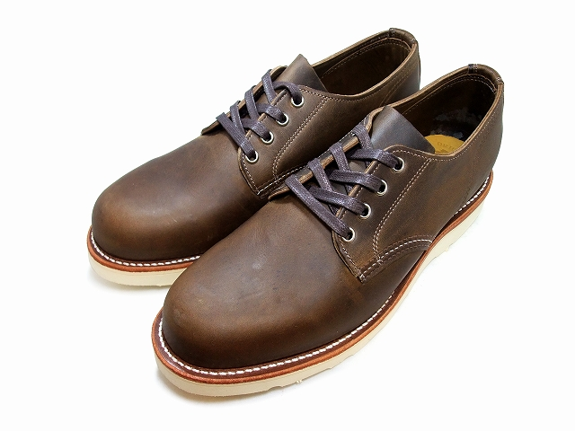 "CHIPPEWA / Chippewa 4 ""PLAIN TOE WEDGE OXFORD/4-inch plant wedge Oxford 1901M47 CRAZY HORSE / Crazy Horse LACE UP / lace-up MADE IN USA and made in the USA"