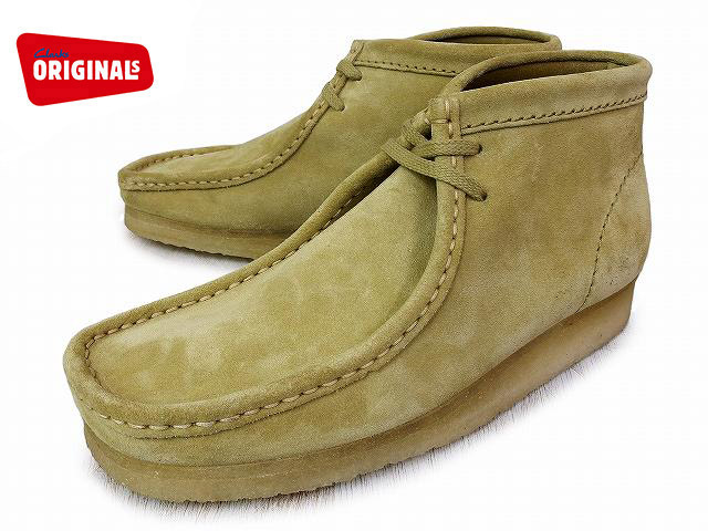 -CLARKS WALLABEE BOOT-
