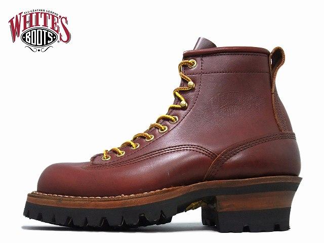 ホワイツ スモークジャンパー ホワイツブーツ White's Boots SMOKE JUMPER 6inc 350V LTT レッドドッグ vibram 100ソール アメリカ製 ワークブーツ メンズ ブーツ men's boots【送料無料!】