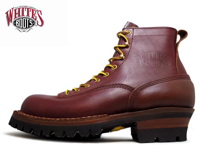 ホワイツ スモークジャンパー ホワイツブーツ White's Boots SMOKE JUMPER 6inc 350V LTT カットエンド レッドドッグ vibram 100ソール アメリカ製 ワークブーツ メンズ ブーツ men's boots【送料無料!】