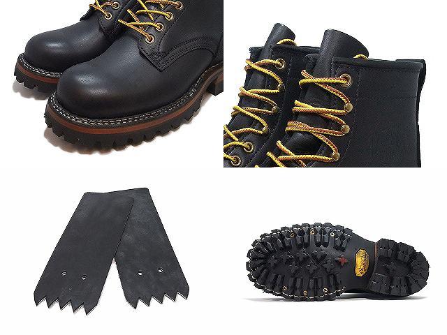 ホワイツ スモークジャンパー ホワイツブーツ White's Boots SMOKE JUMPER 6inc RT ブラック レギュラートゥ vibram 100ソール アメリカ製 ワークブーツ メンズ ブーツ men's bootsdxQorCWBe