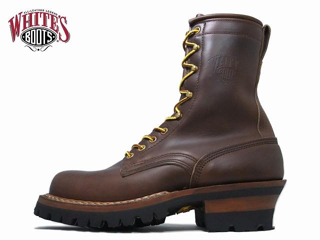 ホワイツ スモークジャンパー 8インチ ホワイツブーツ White's Boots SMOKE JUMPER 8inc RT 375V ブラウンクロムエクセル ホーウィン レギュラートゥ アメリカ製 ワークブーツ メンズ ブーツ men's boots