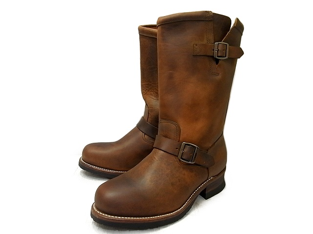 0c804352367 WOLVERINE and Wolverine STOCKTON 1000 MILE ENGINEER's BOOT / Stockton 1000  miles Engineer Boots WO5143 W05143 BROWN / Brown Horween predator Leather  ...