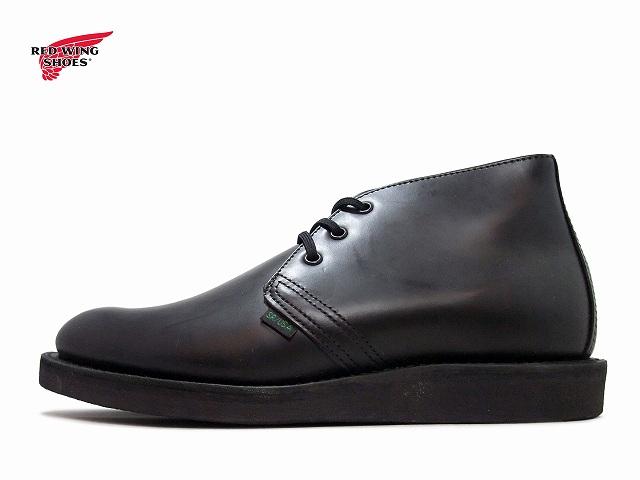 レッドウィング ポストマン RED WING POSTMAN CHUKKA 9196 ブラック【ポイント15倍!】【ケア用品2点プレゼント!】REDWING レッド・ウィング レッドウイング メンズ ブーツ men's boots