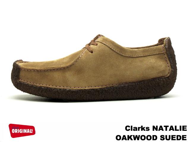 クラークス ナタリー オークウッド CLARKS NATALIE 1079-87G オークウッドスエード UK規格 メンズ ブーツ men's boots【送料無料!】