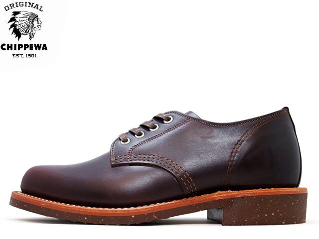 チペワ オックスフォード プレーン トゥ サービスオックスフォード コードバン CHIPPEWA 4 PLAIN TOE SERVICE OXFORD 1901M74 CORDVAN メンズ mens boots