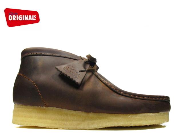 クラークス ワラビーブーツ CLARKS WALLABEE BOOT 26103604 BEES WAX LEATHER ビーズワックスレザー US規格 メンズ ブーツ men's boots